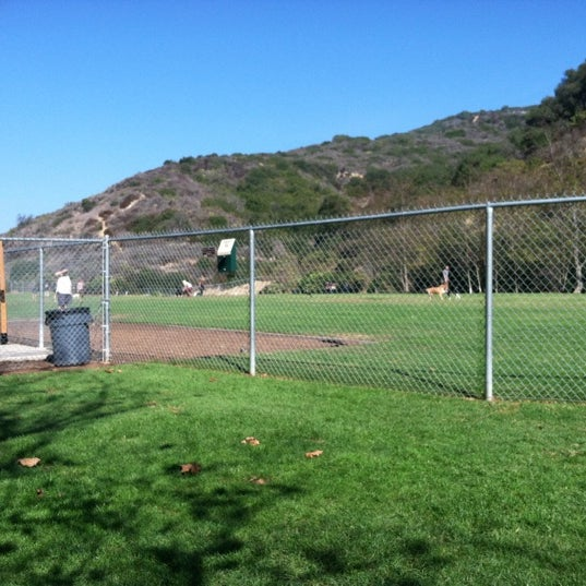 Photo taken at Laguna Canyon Dog Park by Sae C. on 11/3/2012