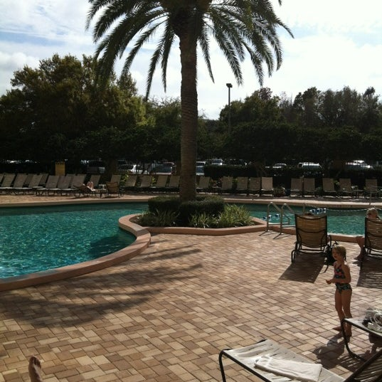 Photo taken at Rosen Plaza Hotel by Cindy G. on 1/20/2013