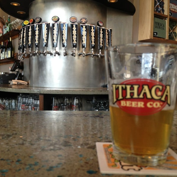Photo taken at Ithaca Beer Co. Taproom by eric i. on 3/13/2013