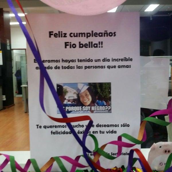 Photo taken at El Comercio by Fiorella F. on 8/5/2014