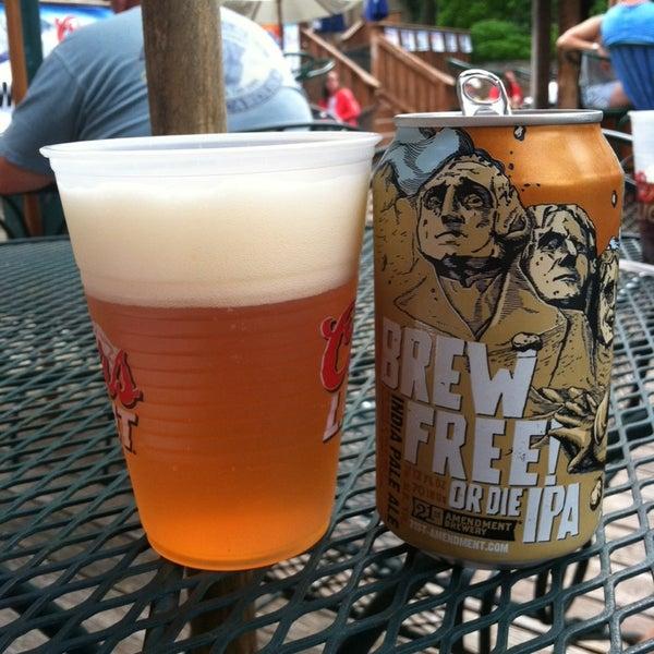 Photo taken at Pocono Brewing Company by Thomas C. on 7/19/2014