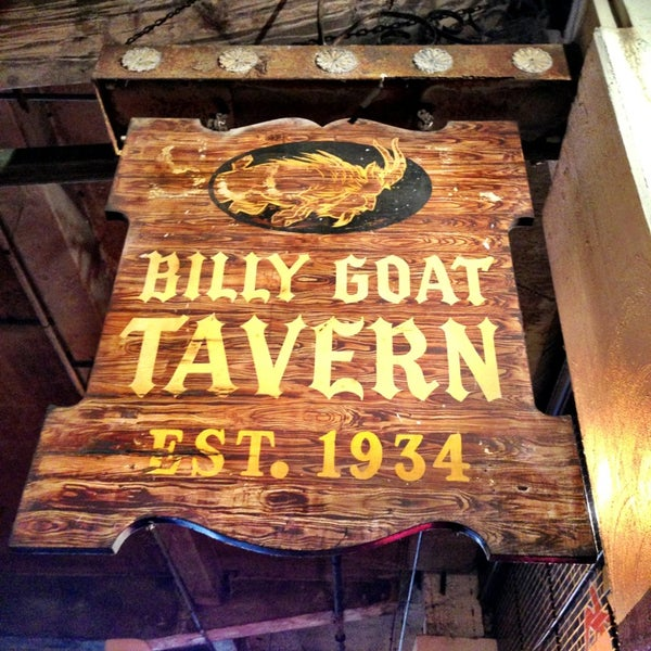 how to order at billy goat tavern