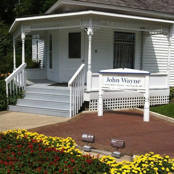 Photo taken at John Wayne Birthplace Museum by Payten R. on 7/19/2013