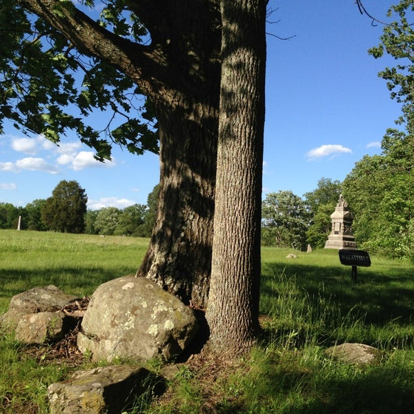 Photo taken at Wheatfield, Gettysburg Battlefield by K on 5/25/2013