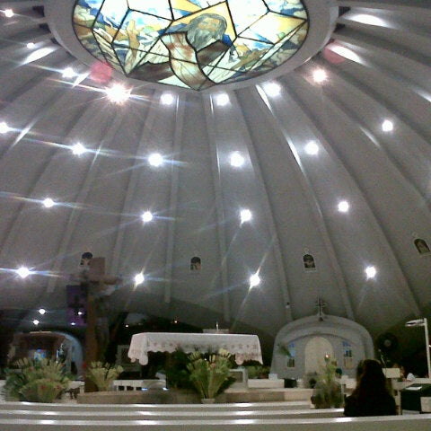 Photo taken at Sto. Niño de Paz Community Chapel by dL on 3/23/2013