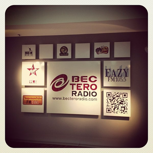 Photo taken at BEC-Tero Radio Company Limited by Korakan Y. on 10/2/2012