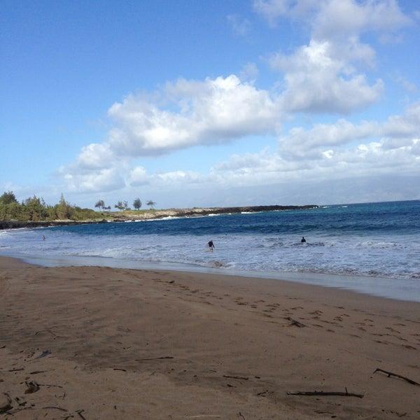Photo taken at D.T. Fleming Beach Park by John K. on 3/1/2013