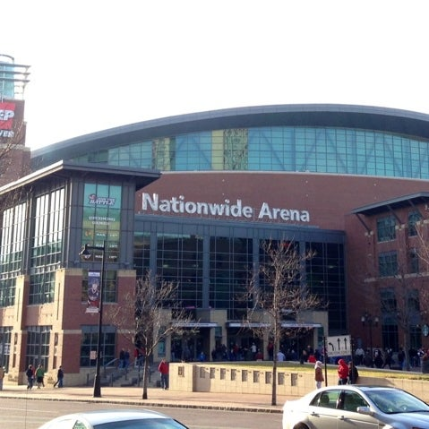 Photo taken at Nationwide Arena by Ondřej N. on 3/15/2013