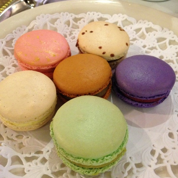 Photo taken at La Maison du Macaron by robin s. on 2/16/2013