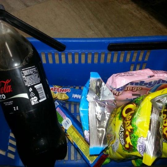 Photo taken at Supermercados Nazaré by D¡€go T. on 1/21/2013
