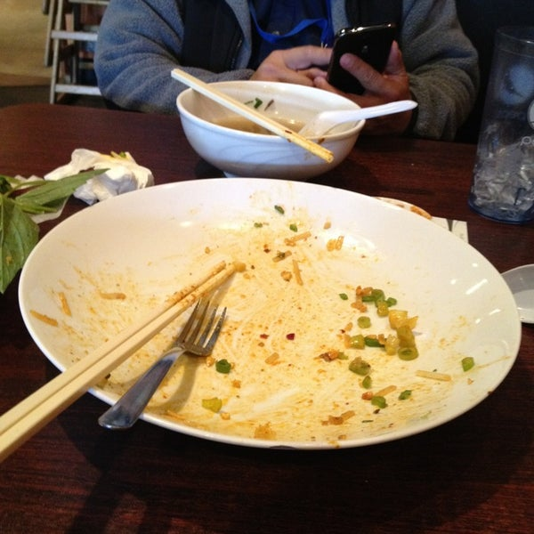 Photo taken at Pho Khang by Merry W. on 2/21/2013