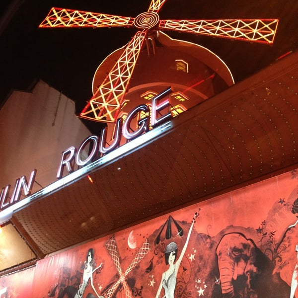 Photo taken at Moulin Rouge by Ingeborga B. on 2/2/2013