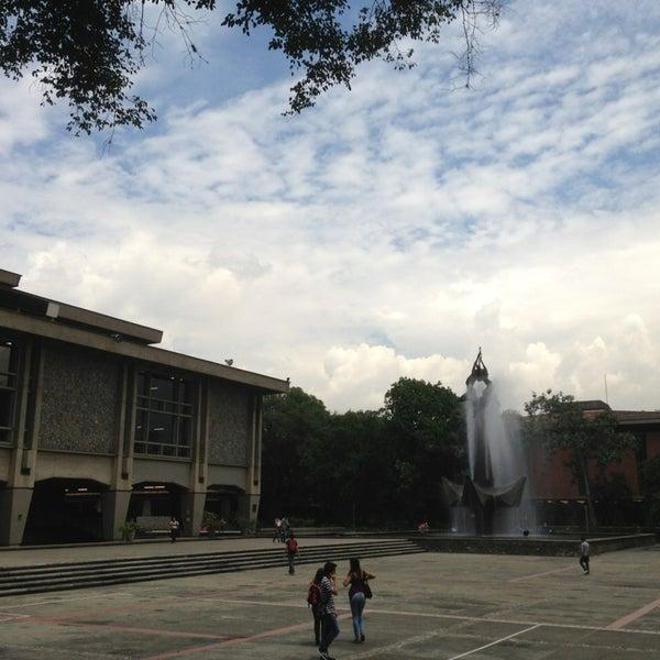 Photo taken at Universidad de Antioquia by Sebastian Q. on 5/22/2013