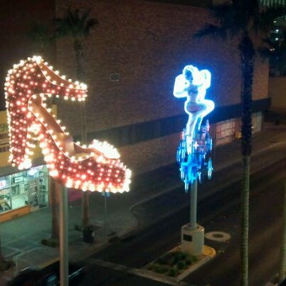 Photo taken at El Cortez Hotel & Casino by Chad E. on 12/11/2011