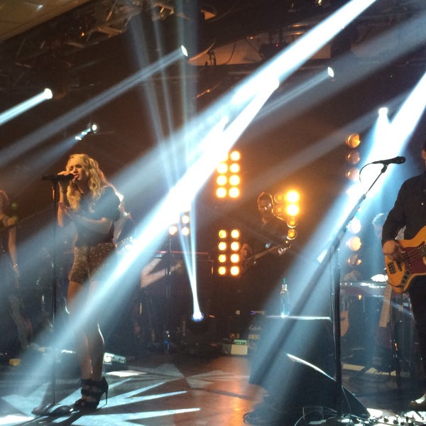 Photo taken at iHeartRadio Theater by Jeana C. on 10/22/2015