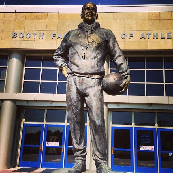 Photo taken at Allen Fieldhouse by Bobby M. on 5/11/2013