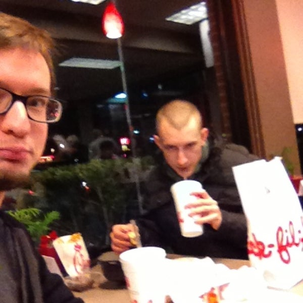 Photo taken at Chick-fil-A by Carl G. on 12/28/2012