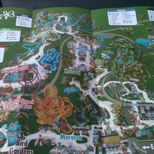 World 39 S Most Popular Amusement Parks By Citymaps On Citymaps