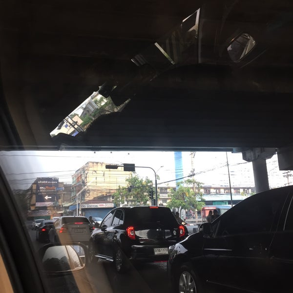 Photo taken at Sutthisan Intersection by Patsorn N. on 3/29/2016