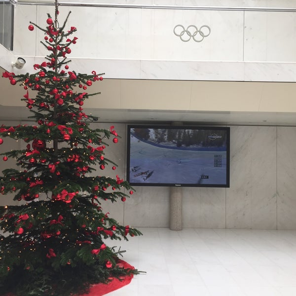 Photo taken at International Olympic Committee by Genti P. on 12/8/2014
