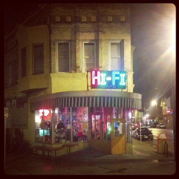 Hi Fi Cafe Hours
