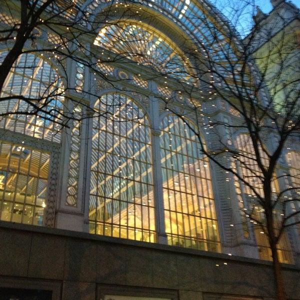 Photo taken at Royal Opera House by Vanda L. on 1/21/2013