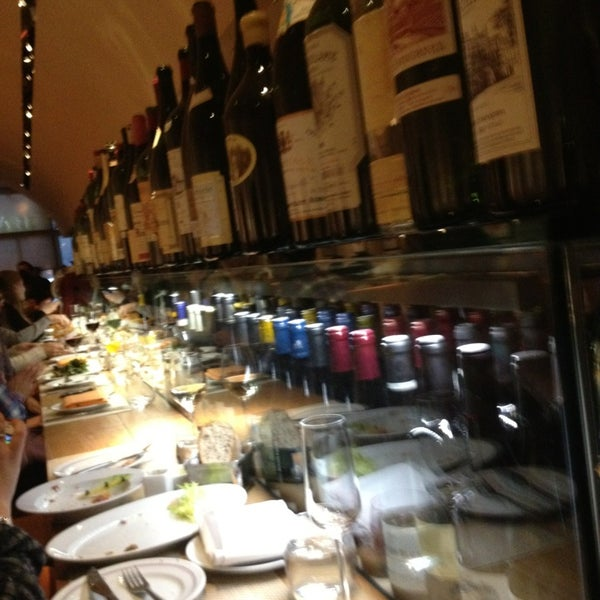 Photo taken at Bar Boulud by Armand A. on 3/22/2013