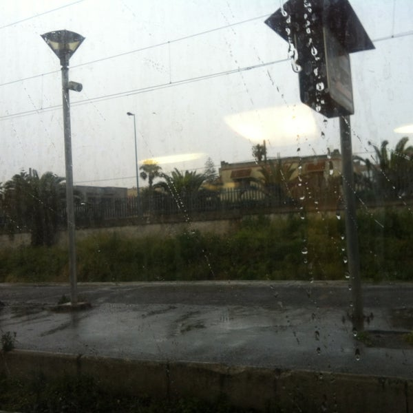 Photo taken at Gare de Mohammédia  محطة المحمدية by NiNa on 5/21/2013