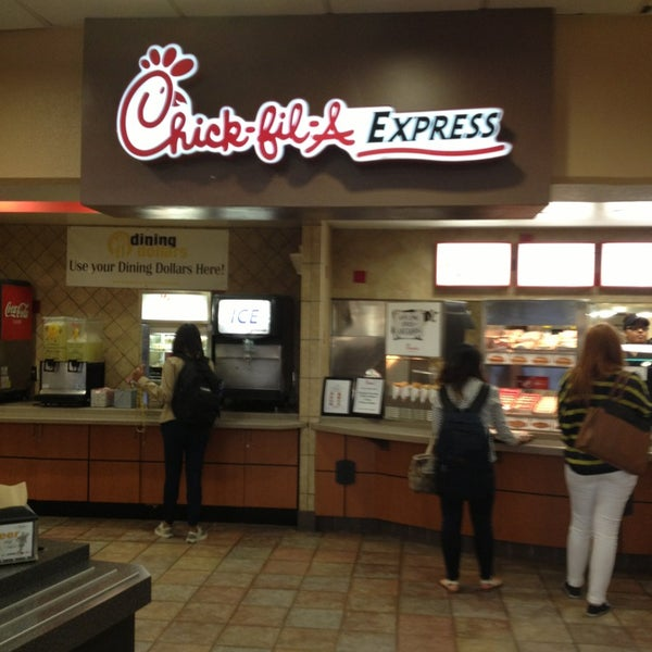 Best study place and easy access to chick-fil-a