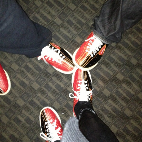 Photo taken at Bowlmor Rockville by Sara R. on 3/29/2013