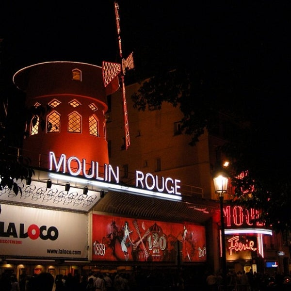 Photo taken at Moulin Rouge by Ivan5 (. on 3/13/2014