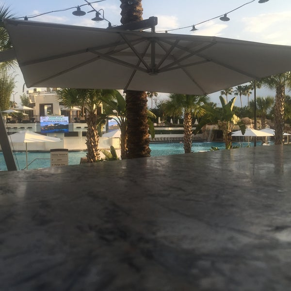 Photo taken at Marriott World Center Pool by Michael S. on 5/12/2016