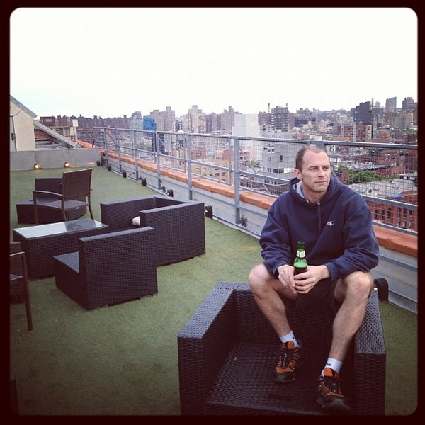 Photo taken at Meetup HQ Roof Deck by michael G. on 5/7/2012