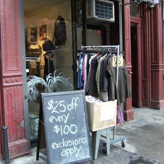 Cadillac 39 s castle women 39 s store in east village for High end thrift stores nyc