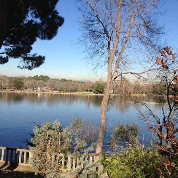 Photo taken at Lago de la Casa de Campo by LoveIsInTheDough on 1/4/2013