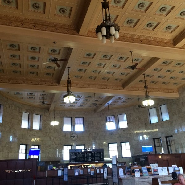 Photo taken at Union Station Amtrak (PDX) by Paris B. on 7/31/2014