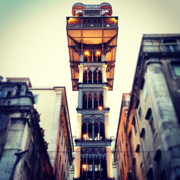 Photo taken at Elevador de Santa Justa by Carolina B. on 5/12/2013