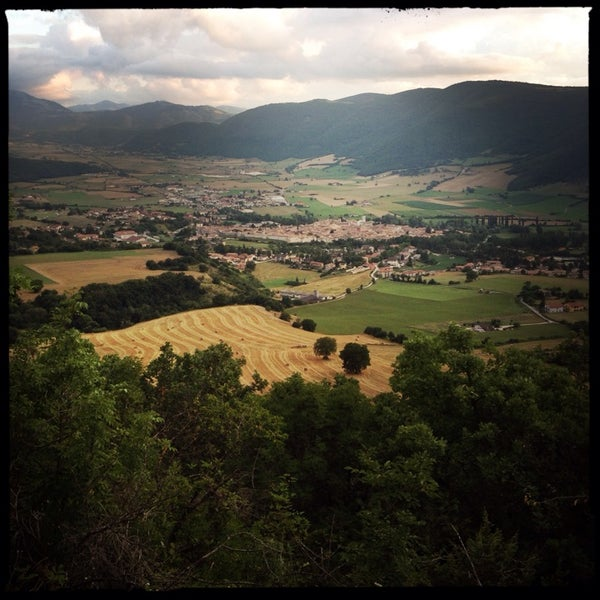 Photo taken at Norcia by Petr L. on 7/28/2014
