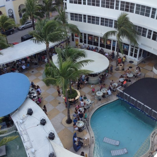 Photo taken at Clevelander South Beach Hotel and Bar by DJ LEGACY / @TheRealDJLEGACY on 10/13/2012