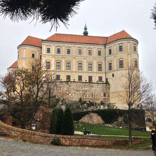 Photo taken at Zámek Mikulov by Elena A. on 10/27/2013