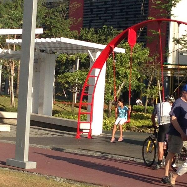 Photo taken at Bonifacio High Playground by Beb C. on 2/15/2013