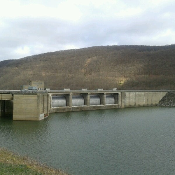 Photo taken at Kinzua Dam by Todd S. on 4/30/2013
