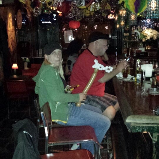 Photo taken at The Cubbyhole Bar by Todd S. on 5/8/2014