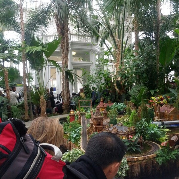 Photo taken at Enid A. Haupt Conservatory by Nadezhda B. on 12/26/2013