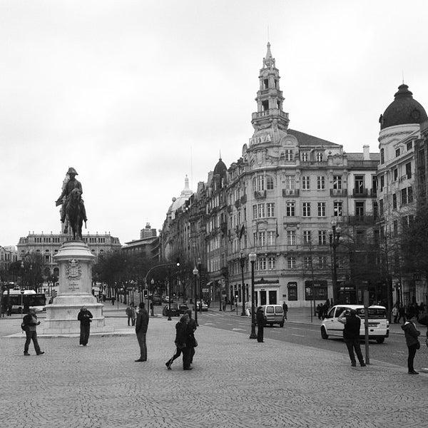 Photo taken at Avenida dos Aliados by Andrea G. on 4/21/2013