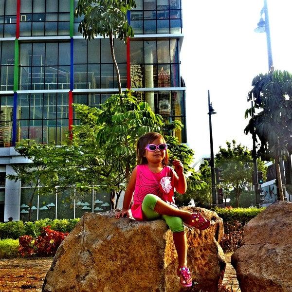 Photo taken at Bonifacio High Playground by Gieram V. on 4/30/2013