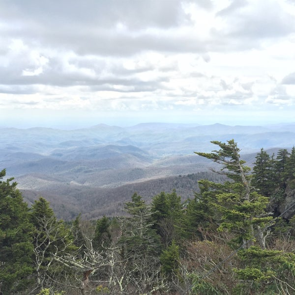 Photo taken at Grandfather Mountain by Winnie F. on 4/18/2015