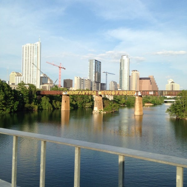 Photo taken at Lady Bird Lake Trail by Alexandra on 4/18/2014