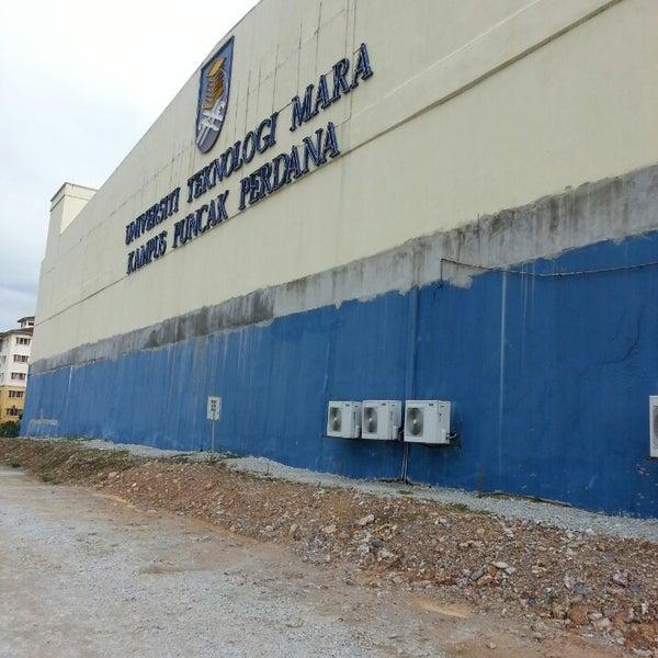 Photo taken at UiTM Puncak Perdana by Ni S. on 12/21/2014