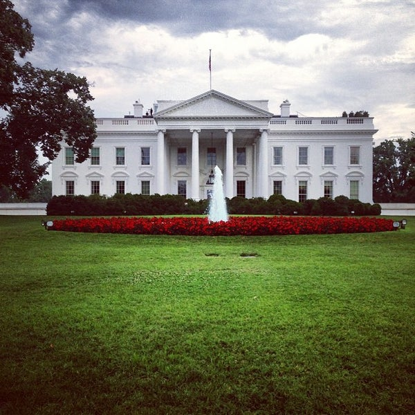 Photo taken at The White House by Sbellandi on 7/28/2013